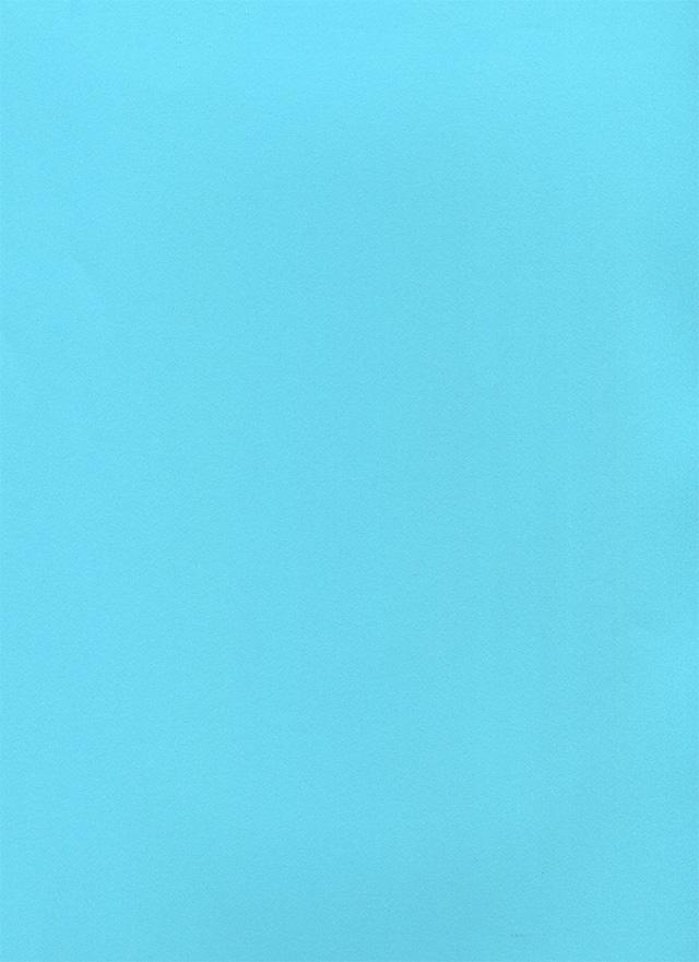 水色のキメの細かい紙のテクスチャ素材