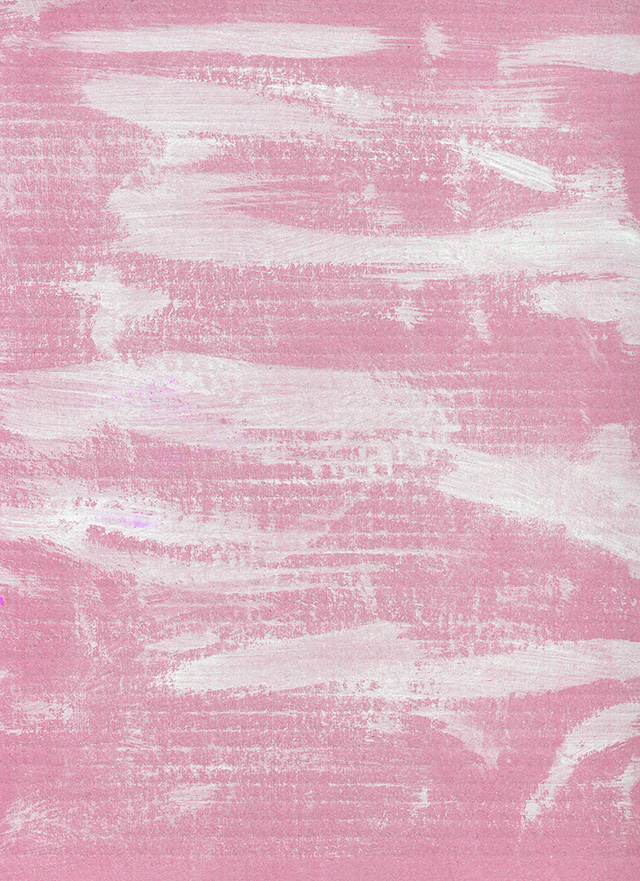 白の絵具の入ったピンクのテクスチャ素材