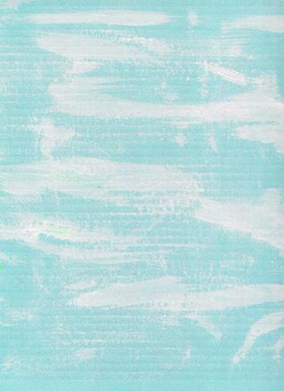 白の絵具の入った水色のテクスチャ素材