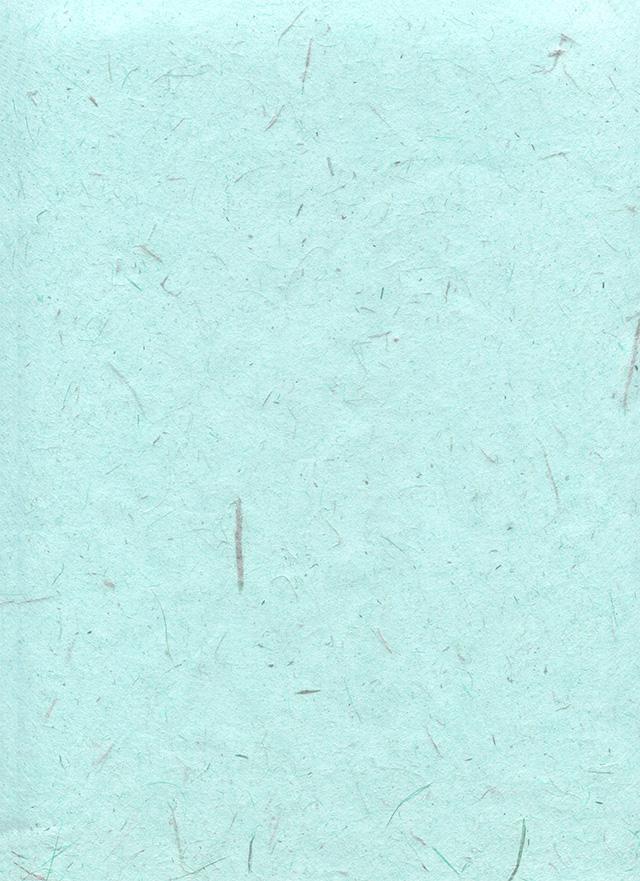 水色の木屑の入った和紙のテクスチャ素材