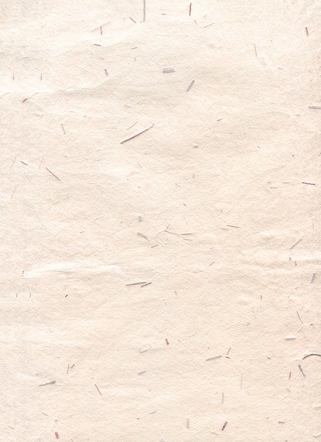 ベージュの木屑の入った和紙の背景素材