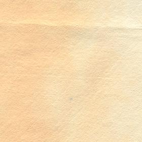 色落ちしたオレンジ色の紙のテクスチャ素材のサムネイル画像