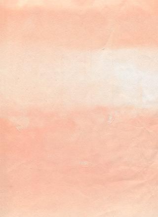 赤色のくたびれた紙のテクスチャ素材