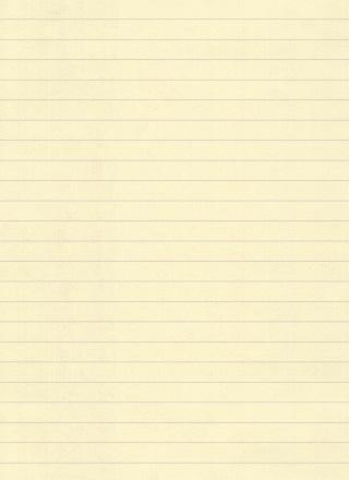 黄色いノートのテクスチャ背景素材