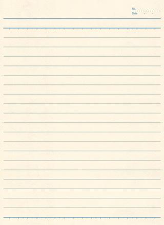 クリーム色のノートの無料テクスチャ素材