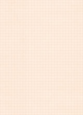 クリーム色の方眼紙風ノートのテクスチャ素材