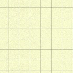 黄色の方眼紙風ノートのテクスチャ素材のサムネイル画像