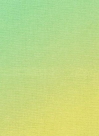 緑から黄色の粗い布のテクスチャ素材