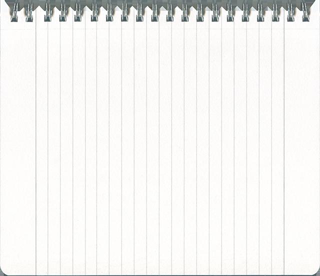 リングノートの無料テクスチャ素材 3