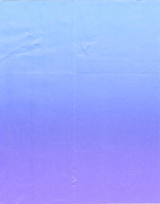 寒色系のグラデーションのグランジ風のペーパーテクスチャ素材