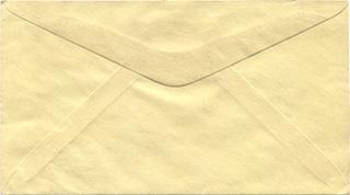 黄色い封筒の背景素材