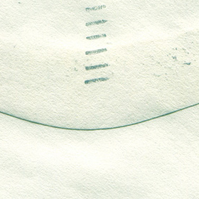 古い封筒のペーパーテクスチャ素材 2のサムネイル画像