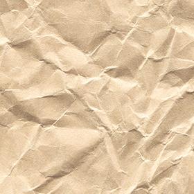 くしゃくしゃの紙の無料テクスチャ素材のサムネイル画像
