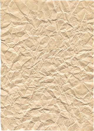 くしゃくしゃの紙の無料テクスチャ素材
