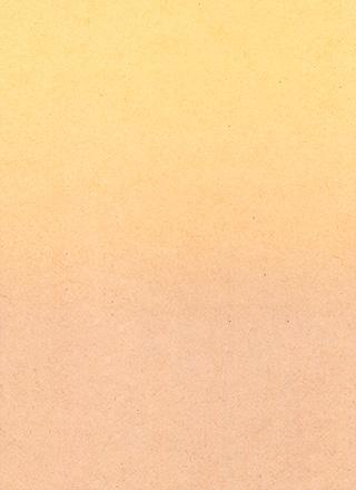 黄色系のグラデーションのかかった紙のテクスチャ素材