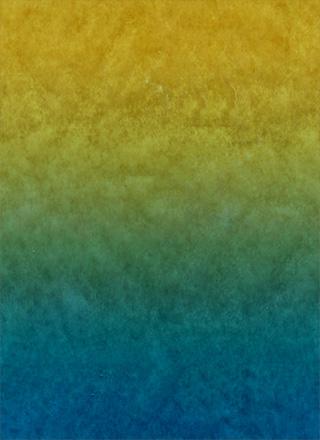 青から黄の濃いグラデーションの背景素材