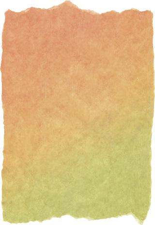 グラデーションのかかった破れた紙の背景素材