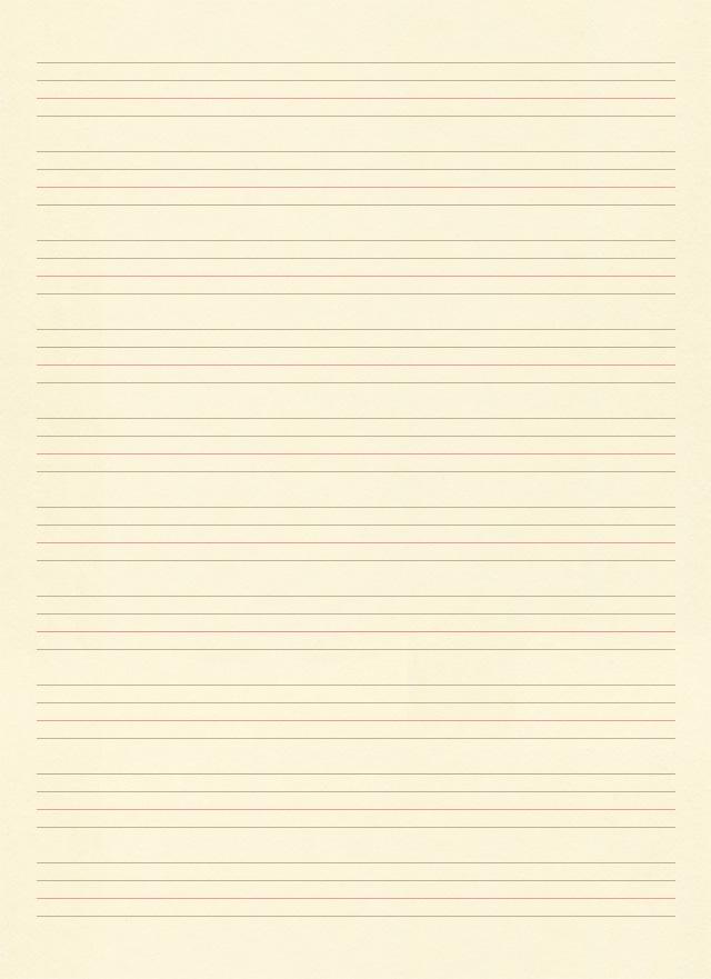 ベージュの英語ノートの背景テクスチャ素材