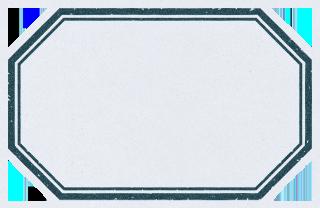 ビンテージ風の六角形のラベル素材 2