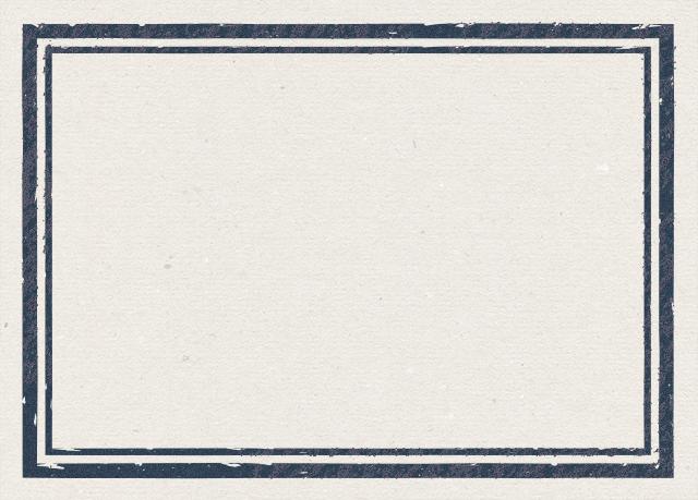 四角いビンテージ風のフリーラベル素材 2