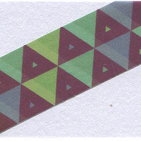 斜めのラインの入った無料タグ素材のサムネイル画像