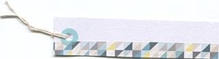 マスキングテープ付きのタグの無料素材 2