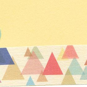マスキングテープ付きのタグの無料素材 3のサムネイル画像