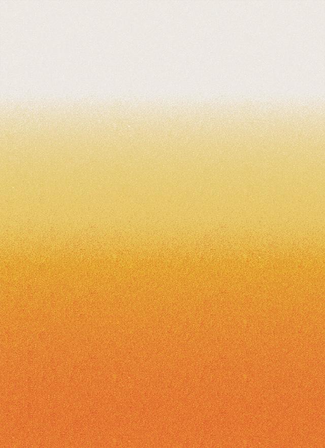 ビールのような色合いの無料背景素材