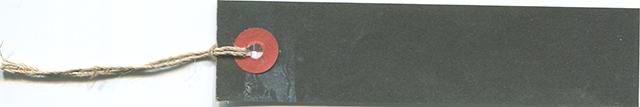 黒ベースのタグの無料素材
