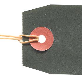 黒ベースのタグの無料素材 2のサムネイル画像