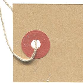 尾の部分がカクカクしているタグの無料素材 2のサムネイル画像