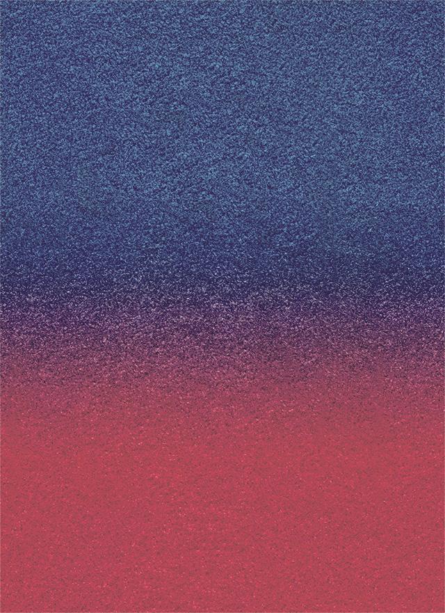 赤から青のざらざらしたグラデーション背景素材