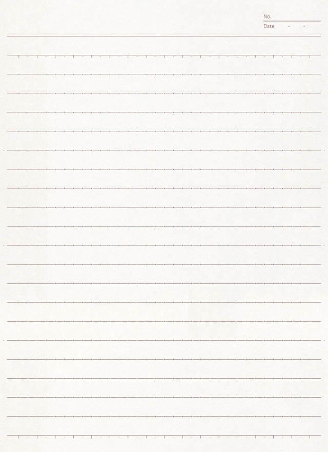 シンプルなノートのフリー背景素材