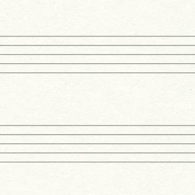 音楽の五線譜ノートの無料背景素材 1のサムネイル画像