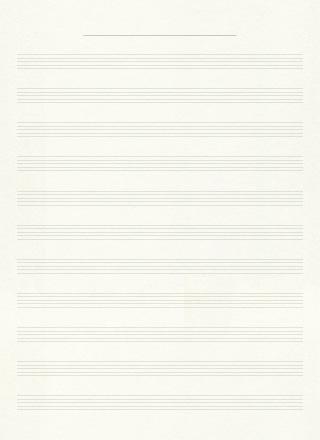 音楽の五線譜ノートの無料背景素材 1