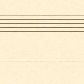 音楽の五線譜ノートの無料背景素材 2のサムネイル画像
