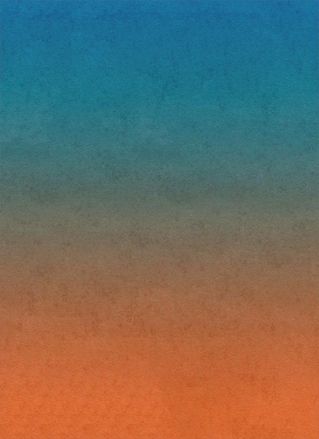 青から茶色のグラデーション背景素材