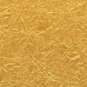 黄金色に輝く金紙のテクスチャ素材のサムネイル画像