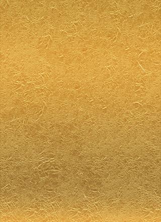 黄金色に輝く金紙のテクスチャ素材