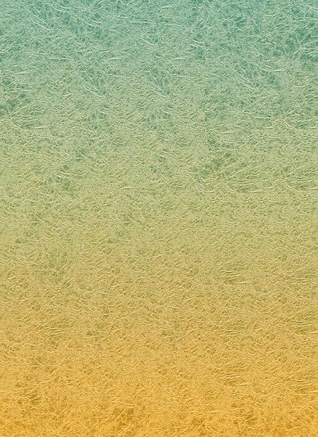 黄色系のくしゃくしゃのグラデーション背景素材