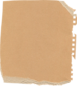 破れた紙の無料素材