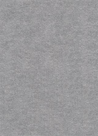 灰色のフェルト生地のような繊維のテクスチャ素材