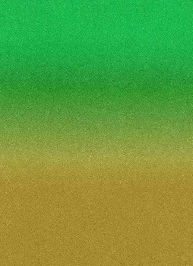 黄色から緑のざらざらしたグラデーション背景素材