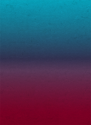 青から赤の濃いめのグラデーション背景素材