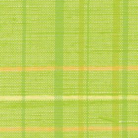 黄緑色の格子の布テクスチャ素材のサムネイル画像