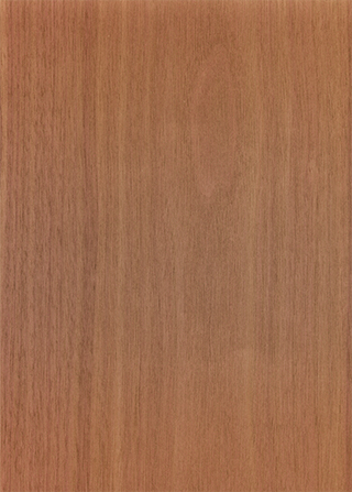 赤みのある木目の板の背景素材