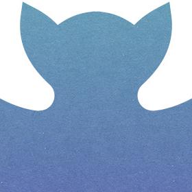 ハロウィンのコウモリのアイコン素材のサムネイル画像