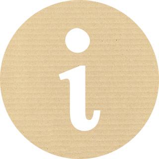 紙テクスチャ素材のインフォメーションアイコン